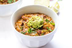 One-Pot Pumpkin Quinoa Chili