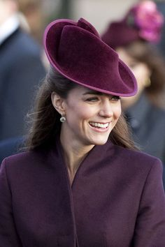 December 25 - KATE MIDDLETON'S 18 MOST POSH HATS: The Sculptural Headpiece