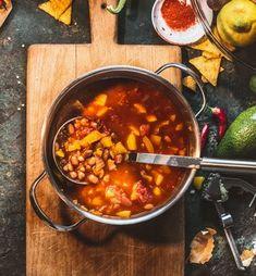 Jackfruit Chili - Rezept