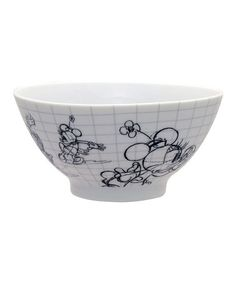 Take a look at this Minnie Mouse Sketchbook Bowl - Set of Four by Disney on #zulily today!