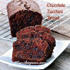 -Super húmedas, tierna y deliciosa es esta doble chocolate calabacín Pan.  A mis hijos les encanta esto y no les importa incluso si hay verduras en el mismo.  Es así de bueno!  !  #double #chocolate #zucchini #bread