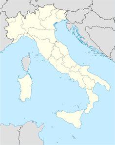 Mapa lokalizacyjna Włoch