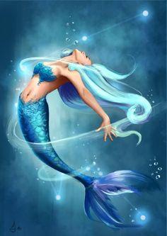 ~ CREATE A CARD ~Mermaid card design
