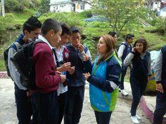20-03-14 Jornada de embellecimiento en la Quebrada las Delicias junto con 90 estudiantes del colegio Monteverde, fundación espeleta y hospital de chapinero.