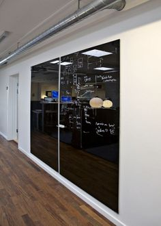 Star Chat Board Glass Writing Wall Mounted Board