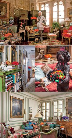 Iris Apfel's Apartment House of Honey|Iris Apfel- love it! She is truly an artist. Love the quirkiness of her style. and unapologetic.