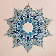❤~ Mandala ~❤ Art by Mojgan Lisar Persian Pattern, Persian Motifs, Islamic Art Pattern, Pattern Art, Mandala Drawing, Mandala Art, Motif Oriental, Tattoo Henna, Arabesque Pattern