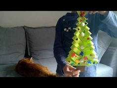 DIY Paper Christmas Trees - YouTube