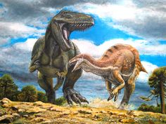 Torvosaurus & Camptosaurus