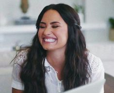 How Demi Lovato is living her best life after rehab – Celebrities Woman Selena Gomez, Ariana Grande, Her Smile, Woman Crush, Girl Crushes, Role Models, My Idol, Actresses, Long Hair Styles