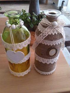 Mijn flessen decoratie