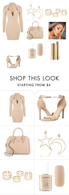 """I have been slayed"" by justanotherbandobsessedgirl ❤ liked on Polyvore featuring Rare London, GUESS, Karl Lagerfeld, Forever 21 and Stila"