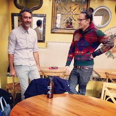 Jurors at #Sundance: Taika Waititi and Cary Fukunaga. Photo via Instagram by @eugonline Gorgeous Men, Beautiful People, Taika Waititi, My Kind Of Love, Sundance Film Festival, Boy Pictures, Always And Forever, Celebs, Celebrities