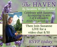 Suzanne Woods Fisher The Haven Kindle Fire Nook Color Giveaway