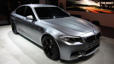 Officially Official: BMW M5 Concept bound for Shanghai [w/video]