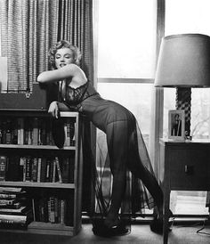 Marilyn Monroe photographed by Philippe Halsman for Life Magazine, April 7th, 1952