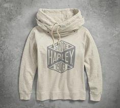 Since 1903 Pullover Hoodie - Motorcycle Style, Motorcycle Outfit, Motorcycle Fashion, Motorcycle Clothes, Harley Davidson Merchandise, Harley Gear, Biker Wear, Patterned Leggings, Hoodies