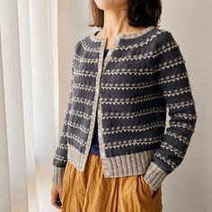Vine Cardigan - Ravelry: Vine Cardigan pattern by Irene Lin The Effective Pictures We Offer You About outfits invie - Loom Knitting Patterns, Knitting Kits, Shawl Patterns, Fair Isle Knitting, Knitting Designs, Baby Knitting, Knitting Tutorials, Free Knitting, Stitch Patterns