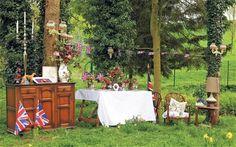 Garden Party Theme Ideas   english tea party