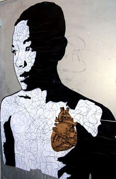 Don John, Aarhaus 3d Street Art, Amazing Street Art, Street Art Graffiti, Amazing Art, Don John, Street Culture, New York Street, Outdoor Art, City Art