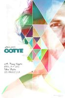 gotye >> designed by cole gerst ((sidenote: just checking out his posters now; all are impressive...fan of his music, but looks like he's got an eye for design as well. nice!)).