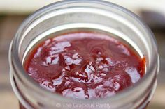 Clean Eating Cranberry Butter