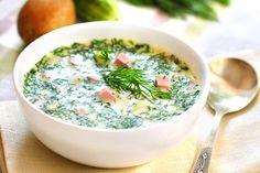 Russian soup recipe Okroshka