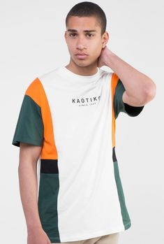 Buy T-Shirts By Kaotiko BCN clothing e-Shop · T-shirts, sweatshirts, trousers, trendy sneakers and streetstyle accessories Nice Outfits For Men, Track Pants Mens, Polo T Shirts, Tee Design, Casual T Shirts, Branded T Shirts, Mens Tees, Streetwear Fashion, Hooded Sweatshirts