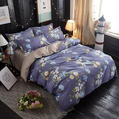 89.8% People is looking for the Bedding Sets,1 Duvet Cover Set +1 Bed Sheets +2 Pillow Shams, Washed Cotton Twin Full Queen Size