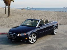 The Estate Car: Audi A4 Convertible. ....Yes please!!