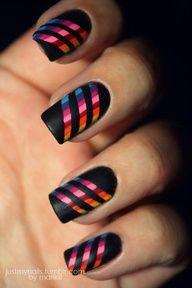 creative nail design