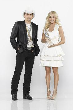 Brad Paisley & Carrie at CMA Awards 2013