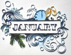"PaperGraphic ""January"" 