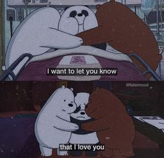 """Tag that special person below 💖"" Bear Wallpaper, Wallpaper Iphone Cute, Cartoon Wallpaper, Disney Wallpaper, Cartoon Edits, Cartoon Quotes, Cute Cartoon, Bear Cartoon, We Bare Bears Wallpapers"