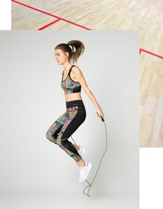Discover this and many more items in Bershka with new products every week Legging Sport, Sports Leggings, France, Feather Print, Ukraine, Active Wear, Tights, Sporty, Fitness