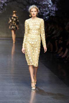 Dolce & Gabbana Women Fashion Show Gallery – Spring Summer 2014 Collection