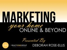 Realestate Listing Marketing Presentation Branded Design