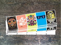 ::INKY SOLUTIONS:: Dudebox concertina postcards