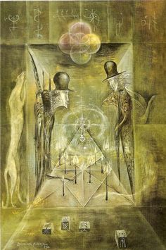 art surrealista The Candle Game, noise amp; silence: The World of Leonora Carrington, Part III: Dark Mysteries, Cosmic Jokes Surrealism Painting, Painting Art, Paintings, Mexican Artists, Italian Artist, Visionary Art, Fantastic Art, Surreal Art, Artist Art
