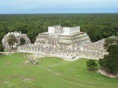 Mil Columnas, Chichen Itzá