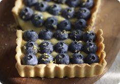 Driscoll's Blueberry Lemon Tart.  |  Driscolls.com