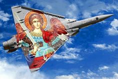 Saint Archangel Michael is the protector of the Hellenic air force.