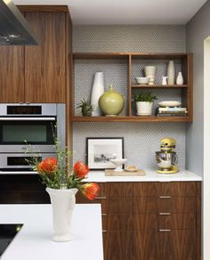mid century shelving designs | Mid-Century Modern | Sogno Design Group