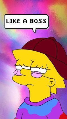 16 Wallpapers that every Chingona woman needs - Fondos de pantalla - Simpson Wallpaper Iphone, Trippy Wallpaper, Tumblr Wallpaper, Wallpaper Ideas, Iphone Wallpapers, Wallpaper Backgrounds, Trippy Drawings, Cartoon Drawings, Aesthetic Iphone Wallpaper