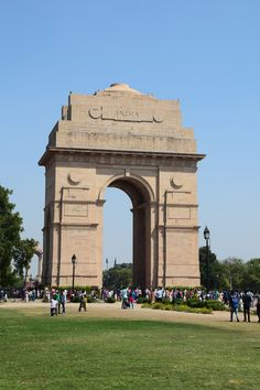 India Gate, Delhi, India. Ironically no gate at all ! ( or doors )