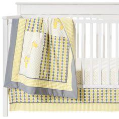 Maybe for a boy :)    Pam Grace Argyle 10 pc Crib  Set