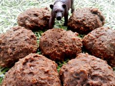 The Teddy Bear Mitt - Madame Labriski Dog Food Recipes, Cookie Recipes, Molasses Cookies, Breakfast On The Go, Biscuit Cookies, Plain Yogurt, Baking Soda, Healthy Snacks, Healthy Recipes