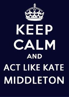 Kate Middleton fan club!