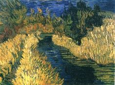 Vincent van Gogh - The Little Stream 1890