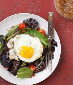 """Recipe of the Day - Bacon, Lettuce and Tomato Salad with a Fried Egg from """"The Grain-Free Family Table""""  The cookbook is 40% off over on Amazon!  Link in profile  #grainfree #paleo #wapf #thyroid #hashimotos #autoimmune #glutenfree  http://amzn.to/1JcPOf8"""